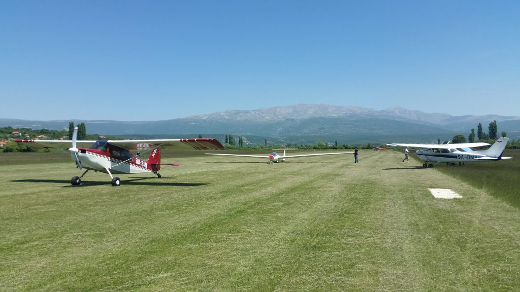 Scout i Cessna 172, Aeroklub Split