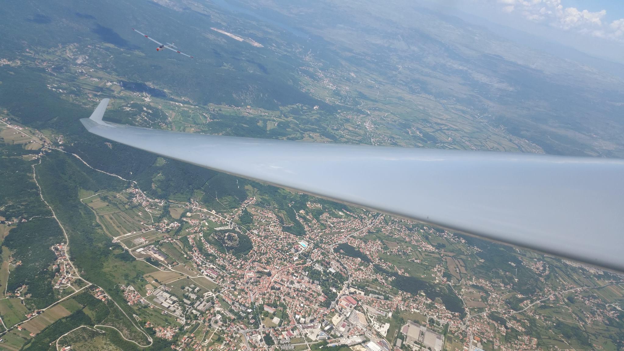 Grad Sinj, Aeroklub Split
